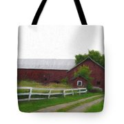 Coming Home - Digital Painting Effect Tote Bag