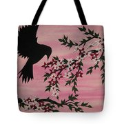 Coming Home To Roost Tote Bag by Cathy Jacobs