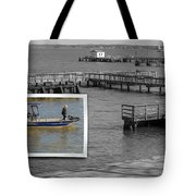 Coming In To Dock Tote Bag