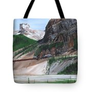 Coming Into Field Tote Bag