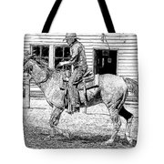 Coming Into Town Tote Bag