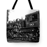 Coming Out Of The Engine Shed Tote Bag