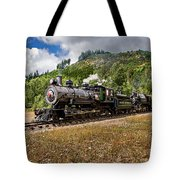 Coming 'round The Mountain Tote Bag