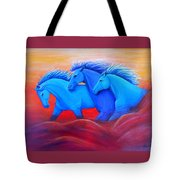Coming Through The Storm Tote Bag