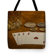 Coming Up Aces Tote Bag