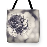 Coming Up In Black And White Tote Bag