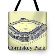Comiskey Park 1910 Tote Bag