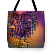Command Central Tote Bag