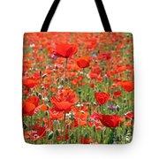 Commemorative Poppies Tote Bag