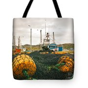 Commercial Fishing In The North Atlantic Tote Bag