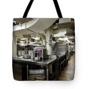 Commercial Kitchen Aboard Battleship Tote Bag