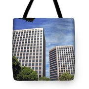 Commercial Office Building Tote Bag