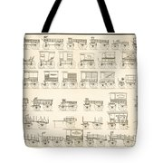 Commercial Wagons  1881 Tote Bag