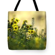 Common Brighteyes Natural Bouquet Tote Bag