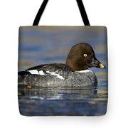 Common Goldeneye Hen Tote Bag