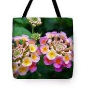 Common Lantana Flower Tote Bag