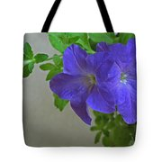 Common Morning Glory   #1313 Tote Bag