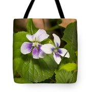 Common Violet Tote Bag