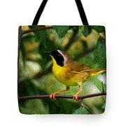 Common Yellowthroat Warbler Tote Bag