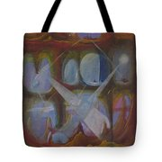 Communication In Xx-73 Galaxy Tote Bag