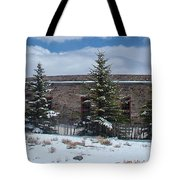 Como Roundhouse Backside Tote Bag by Ken Smith