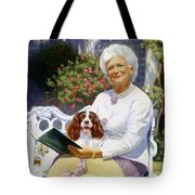 Companions In The Garden Tote Bag