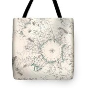 Comparative Map Or Chart Of The Worlds Great Rivers Tote Bag