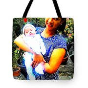Completely Happy Tote Bag