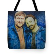 Complete_portrait Of Craig And Ron Tote Bag