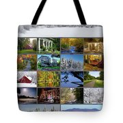 Composite Of Photographs From Various Tote Bag