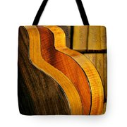 The Shape Of Music Tote Bag