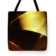 Composition In Gold Tote Bag