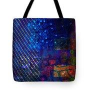 Compute Abstract Tote Bag
