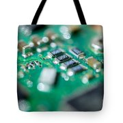 Computer Board Tote Bag