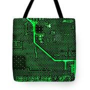 Computer Circuit Board Tote Bag