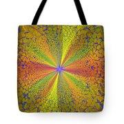 Computer Generated Fractal Art Tote Bag