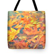 Computer Generated Image Of Autumn Tote Bag