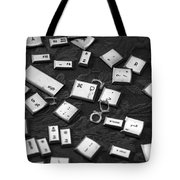 Computer Keys Tote Bag
