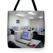 Computer Lab, C1990 Tote Bag