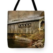 Comstock Bridge 2012 Tote Bag