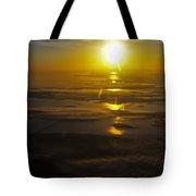 Conanicut Island And Narragansett Bay Sunrise II Tote Bag