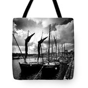 Concarneau Harbour Brittany France Tote Bag