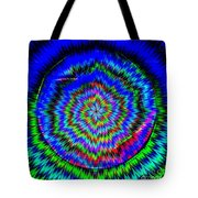 Concentric Hypnotic Circles 1 Tote Bag