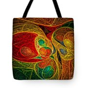 Conception Abstract Tote Bag