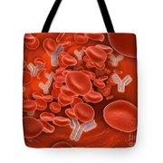 Conceptual Image Of Chromosomes Tote Bag
