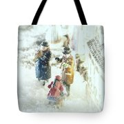 Concert In The Snow Tote Bag
