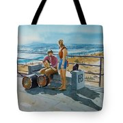 Concert In The Sun To An Audience Of One Tote Bag