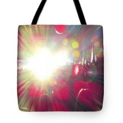 Concert Lights Tote Bag