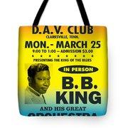 Concert Poster Tote Bag
