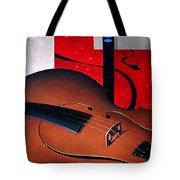 Concerto Of Good And Evil Tote Bag